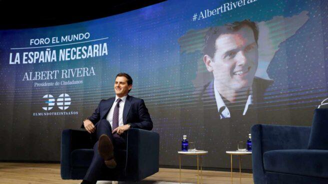 El candidato a la presidencia del Gobierno, Albert Rivera.