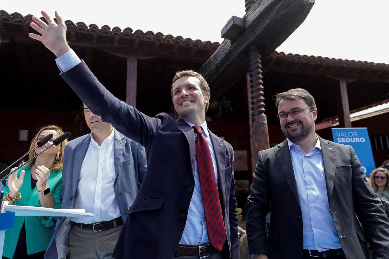 El presidente del Partido Popular y candidato a la Presidencia del Gobierno, Pablo Casado.