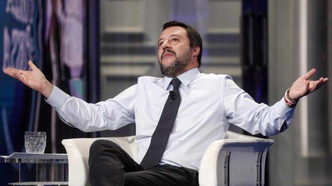 El vicepresidente del Gobierno y ministro del Interior italiano, Matteo Salvini.