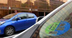 Distintivo ambiental de la Dirección General de Tráfico (DGT).