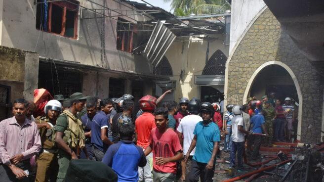 Atentando en Sri Lanka.