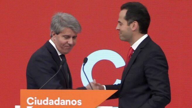 Garrido junto a Aguado para anunciar su pase a Ciudadanos