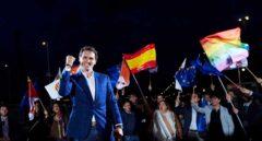 El líder de Ciudadanos, Albert Rivera, durante un acto de campaña antes de las elecciones generales.