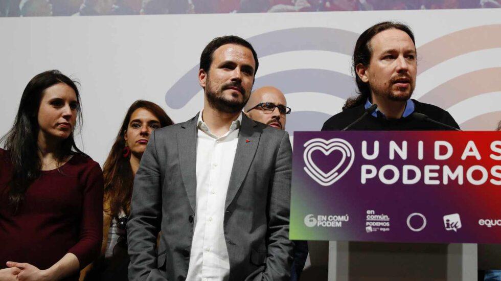 Pablo Iglesias valora los resultados de las elecciones