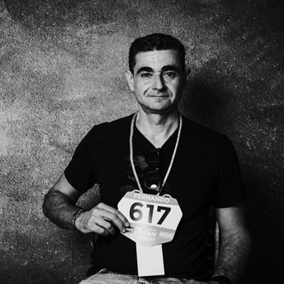 El español Fernando Civera, de 46 años.