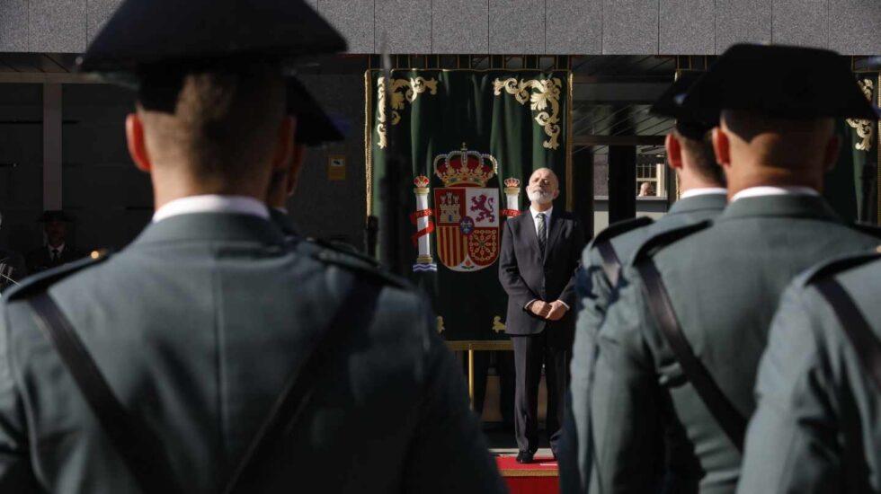 El director general de la Guardia Civil, Félix Azón, en un acto oficial.