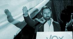 Santiago Abascal, la noche electoral del 28-A.