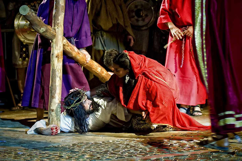 Celebración de la Semana Santa en Chinchón.