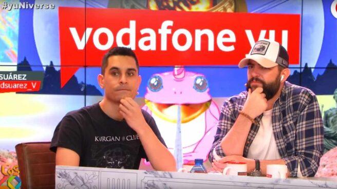 David Suárez y Dani Mateo en Vodafone Yu.