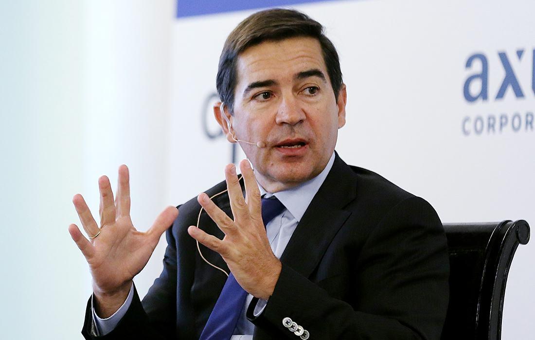 Carlos Torres Vila, presidente de BBVA tras la salida de Francisco González.