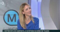 """Alvarez de Toledo recuerda en TV3 que """"es una televisión de parte"""" con un director """"procesado por un golpe a la democracia"""""""