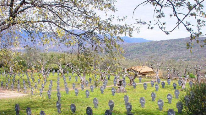 Cementerio militar alemán de Cuacos de Yuste (Cáceres)
