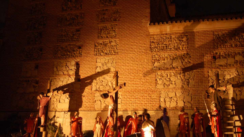 Celebración de la Semana Santa en Daganzo de Arriba.