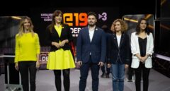 Arrimadas y Álvarez de Toledo, en el debate en TV3 pidiendo la cabeza de su director