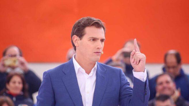 El candidato a la presidencia del Gobierno por Ciudadanos, Albert Rivera