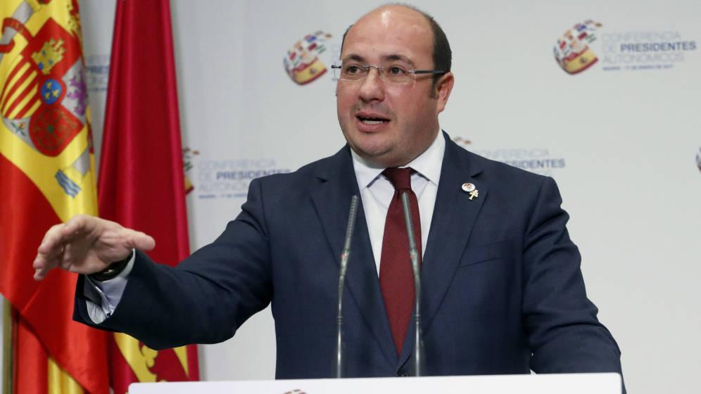 El ex presidente de Murcia, Pedro Antonio Sánchez
