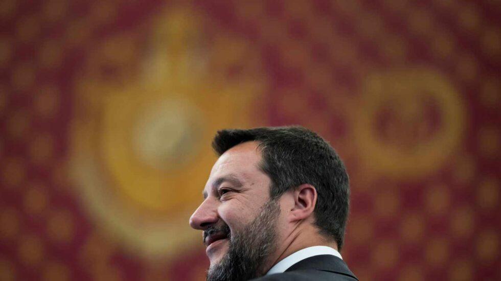 El líder de la Liga y ministro del Interior, Matteo Salvini.