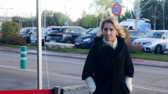 La ex presidenta del PP de Madrid, Esperanza Aguirre
