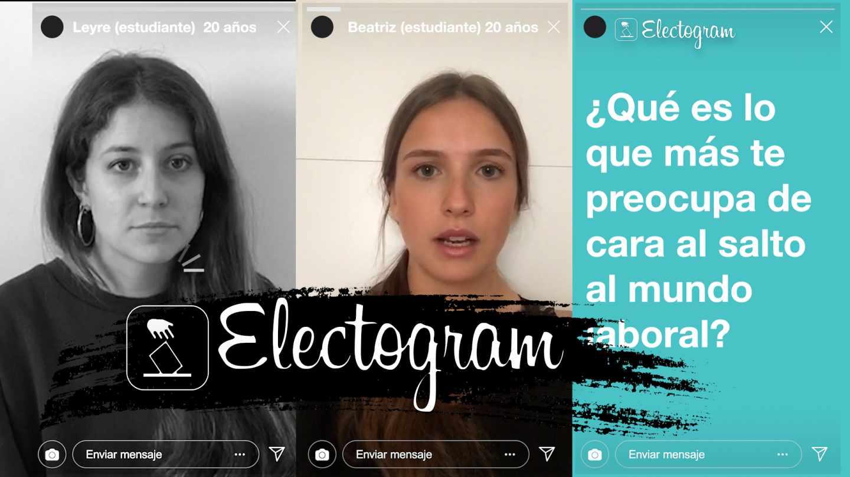 Dos estudiantes opinan sobre las elecciones