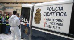 Furgón de la Policía Científica