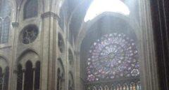 El rosetón y el órgano, entre los tesoros que han sobrevivido a las llamas de Notre-Dame