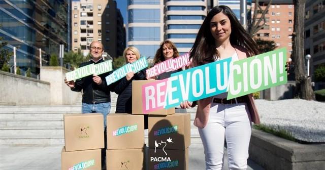 La candidata a la presidencia por Pacma, Laura Duarte