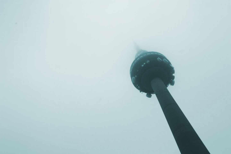 Imagen de la torre de RTVE en Madrid.