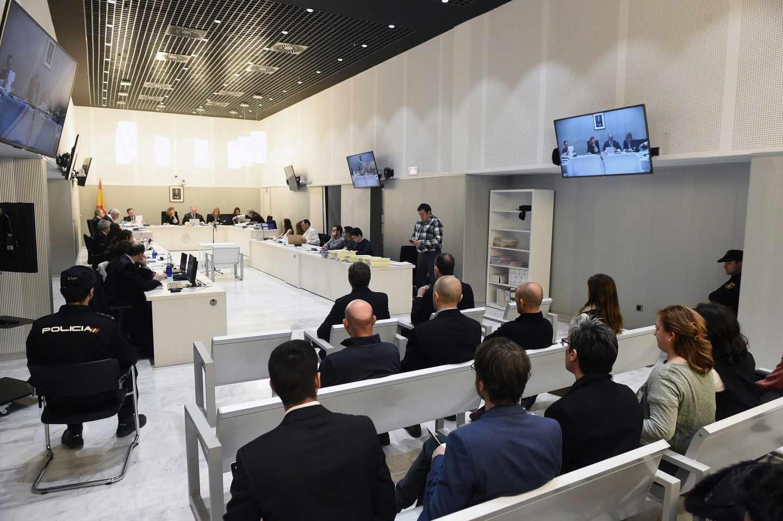 Una de las sesiones del juicio seguido contra el ex presidente del Barcelona Sandro Rosell en la Audiencia Nacional.