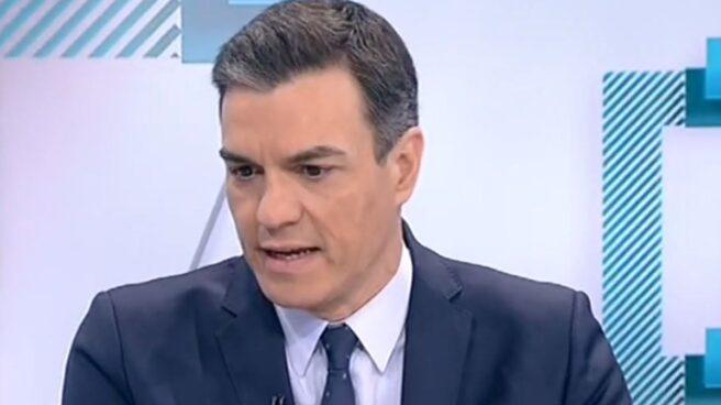 Pedro Sánchez, en Los Desayunos de TVE-1.