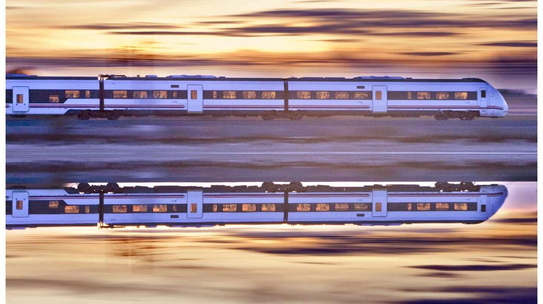 Tren en Ciudad Real.