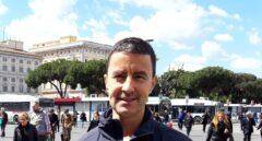 El candidato al Parlamento Europeo Caio Mussolini.