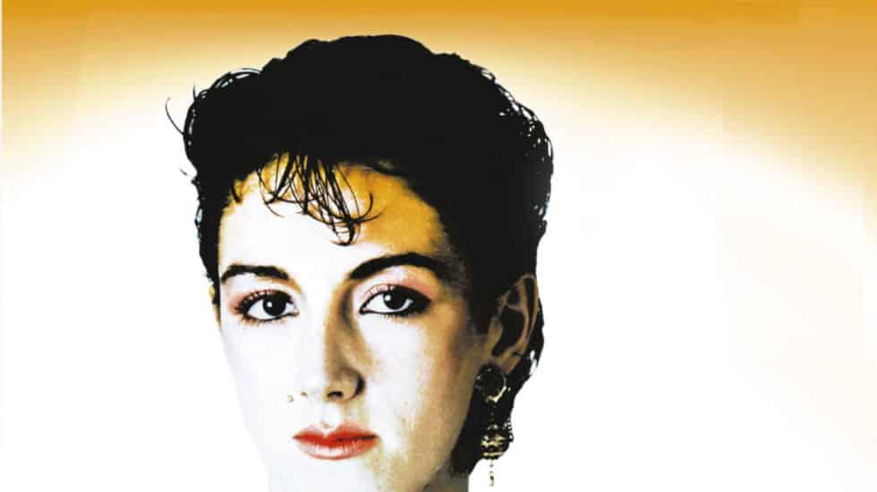 Ana Torroja en 1981 en una imagen promocional e la discográfica recogida en 'Mecano'.