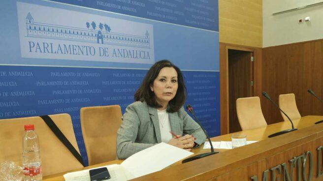 Ángela Mulas, diputada de Vox en el Parlamento de Andalucía.