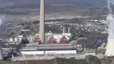 Tres centrales de carbón españolas, entre las empresas más contaminantes de Europa
