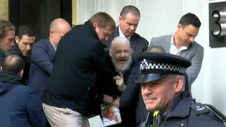 Detención de Julian Assange.