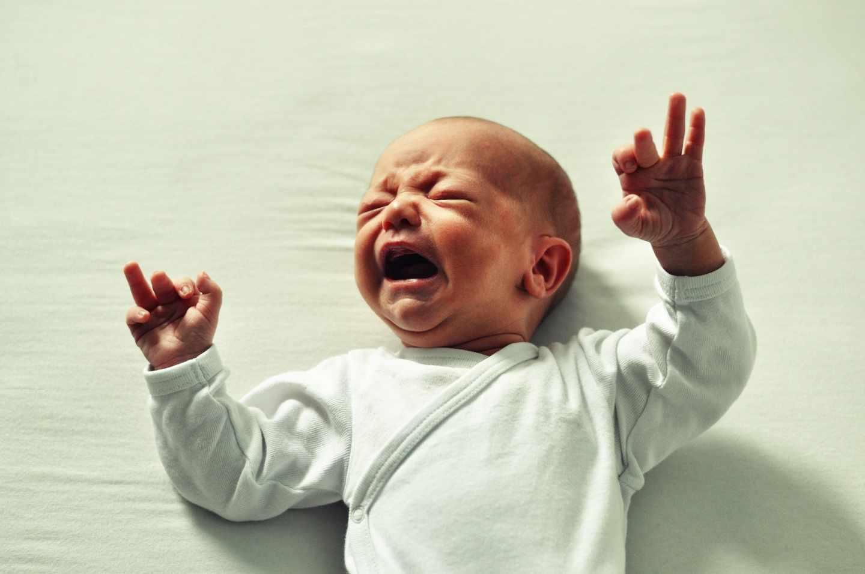 Bebé llorando.