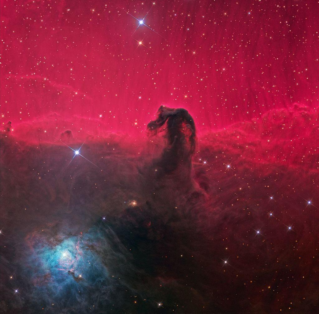 Nebulosa Cabeza de Caballo por el Hubble