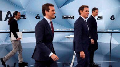 Sánchez se estanca, Casado suma y Rivera acentúa su caída, según las últimas encuestas