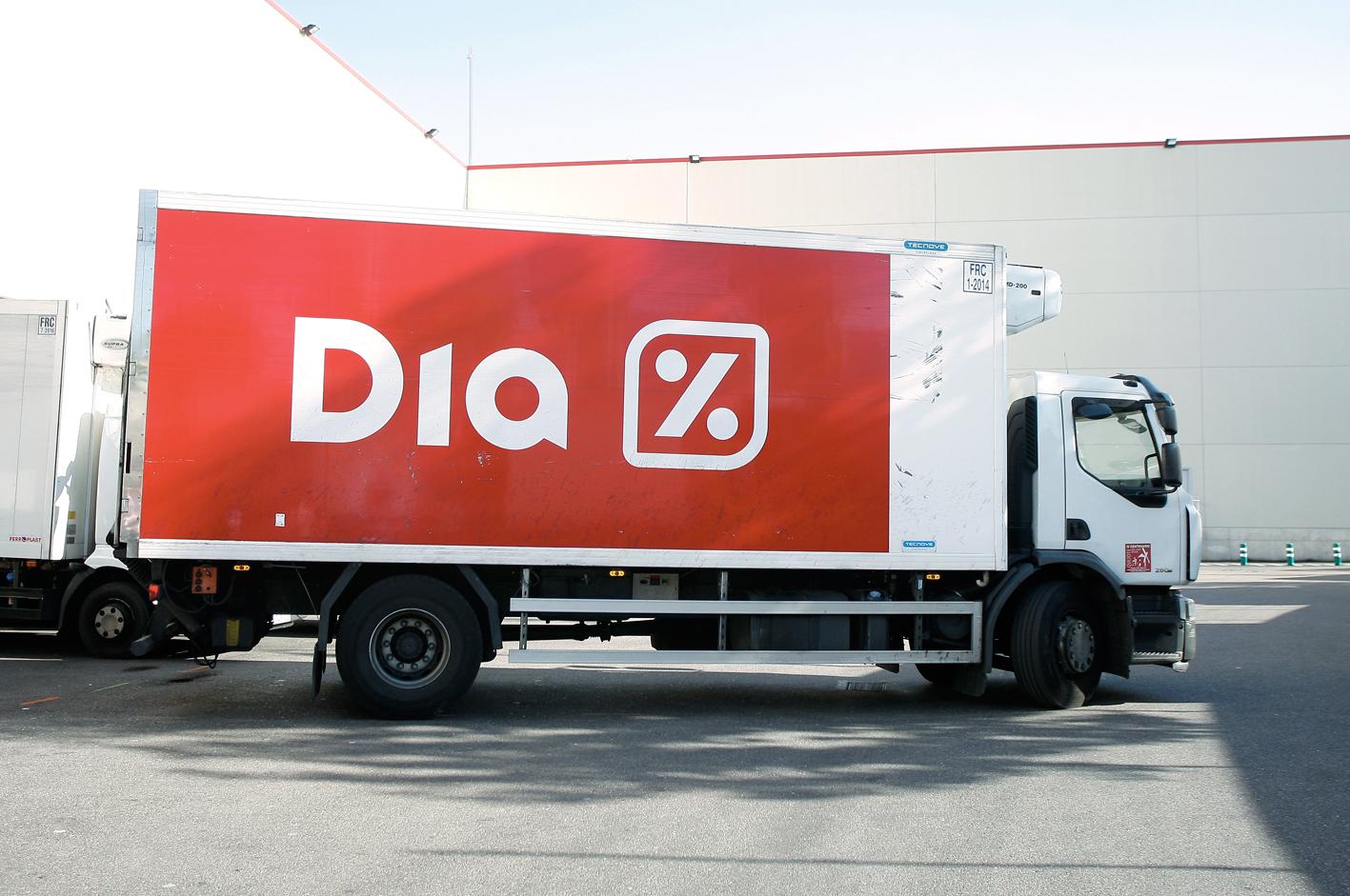 Camión del Grupo Dia.