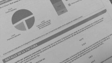 La nueva factura se estrena con el precio de la luz un 50% más caro que hace un año