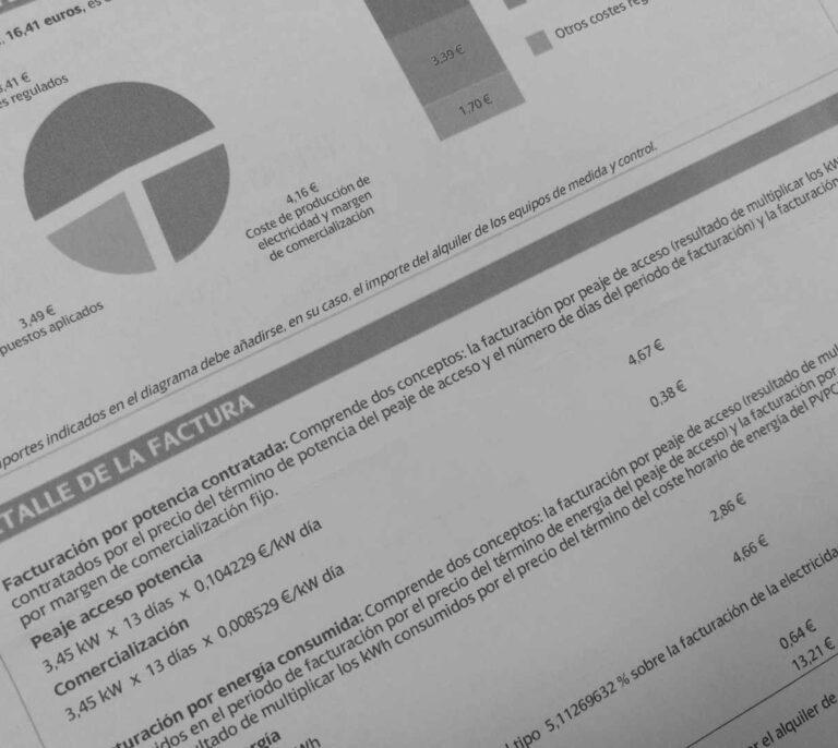 Los españoles se ahorrarían un 30% en la factura eléctrica con sistemas similares a los del resto de Europa