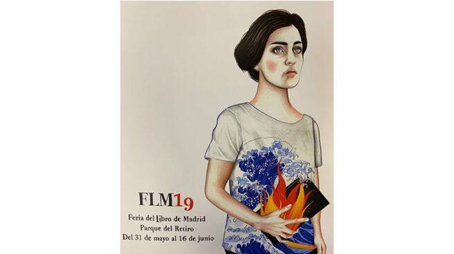 Cartel de la 78º edición de la Feria del Libro de Madrid, por Sara Morante.