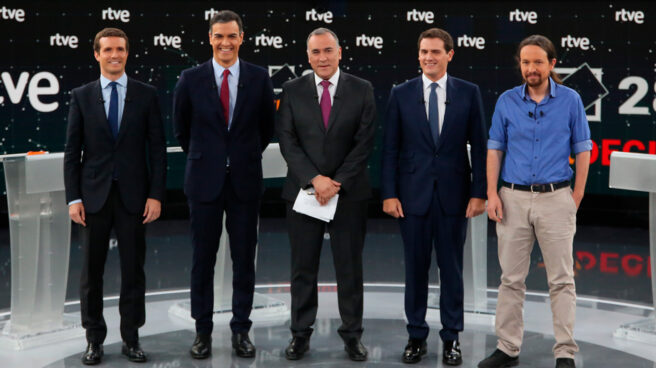 Debate a cuatro de RTVE