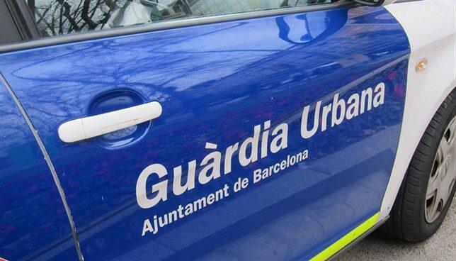 Vehículo de la Guardia Urbana.