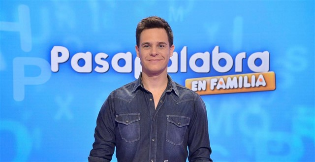 El presentador de 'Pasapalabra', Cristian Gálvez.
