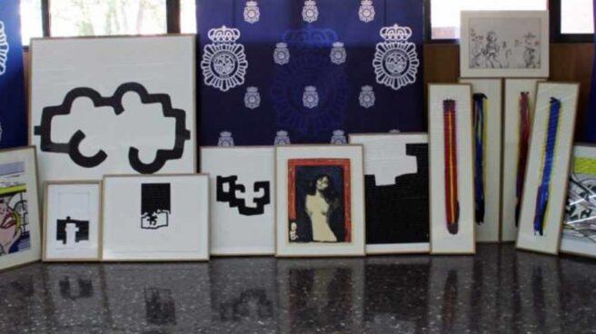 Detienen a un hombre por falsificar y vender obras de Chillida, Munch y José Guerrero.