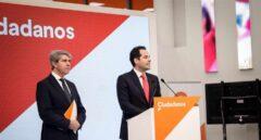 Presentación de Ángel Garrido como nuevo candidato por Cs en la sede del partido.