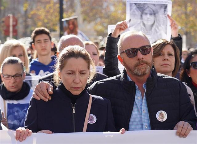 Los padres de Marta del Castillo, Eva Casanueva y Antonio del Castillo.