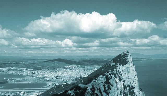 Panorámica del Peñón de Gibraltar.