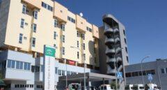 Hospital universitario Virgen de la Victoria en Málaga, donde sucedieron los hechos.